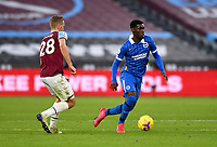 Football - 2020 / 2021 Premier League - West Ham United vs Brighton & Hove Albion - London Stadium<br /> <br /> Brighton & Hove Albion's Yves Bissouma in action during this afternoon's game.<br /> <br /> COLORSPORT/ASHLEY WESTERN