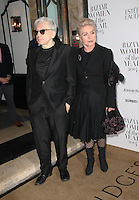 Chris Stein, Debbie Harry, Harper's Bazaar Women of the Year Awards, Claridge's, London UK, 04 November 2014, Photo by Richard Goldschmidt