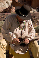 Native American Arrow Maker, Calico Ghost Town, California