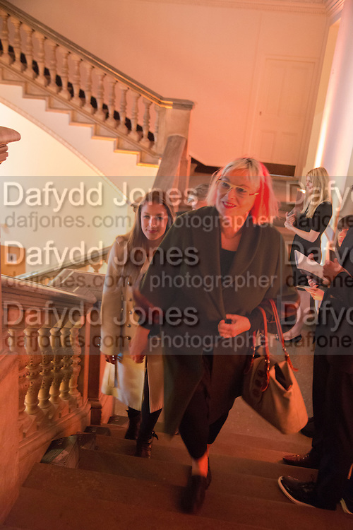 SUSIE HUXLEY, Gala Opening of RA Now. Royal Academy of Arts,  8 October 2012.