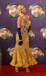 Oksana Platero at the launch of Strictly Come Dancing 2017 at Broadcasting House in London.