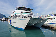 Northwestern Fjord Tour Boat in Seward Boat Harbor.  Our ride.