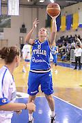 DESCRIZIONE : Parma Palaciti Nazionale Italia femminile Basket Parma<br /> GIOCATORE : Cinzia Arioli<br /> CATEGORIA : tiro<br /> SQUADRA : Italia femminile<br /> EVENTO : amichevole<br /> GARA : Italia femminile Basket Parma<br /> DATA : 13/11/2012<br /> SPORT : Pallacanestro <br /> AUTORE : Agenzia Ciamillo-Castoria/ GiulioCiamillo<br /> Galleria : Lega Basket A 2012-2013 <br /> Fotonotizia :  Parma Palaciti Nazionale Italia femminile Basket Parma<br /> Predefinita :