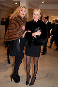 """KARINA CONSTANTINE; MADEZDA OVCHINNILOVA,  ÒFly To BakuÓ Contemporary Art from Azerbaijan, Phillips de Pury. Howick Place, London. 17 January 2012<br /> KARINA CONSTANTINE; MADEZDA OVCHINNILOVA,  """"Fly To Baku"""" Contemporary Art from Azerbaijan, Phillips de Pury. Howick Place, London. 17 January 2012"""