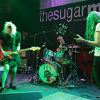 Throwing Up opening for Tim Burgess live at The Sugarmill, Stoke-on-Trent, 2013-09-21