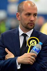 SCOTTISH PARLIAMENTARY ELECTION 2016 – Ben Macpherson, Scottish National Party (SNP) during the vote Counting at Royal Highland Centre, Edinburgh<br />(c) Brian Anderson   Edinburgh Elite media
