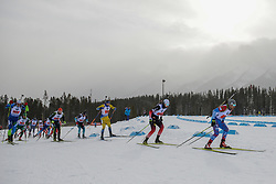 February 8, 2019 - Calgary, Alberta, Canada - Athletes compete during Men's Relay of 7 BMW IBU World Cup Biathlon 2018-2019. Canmore, Canada, 08.02.2019 (Credit Image: © Russian Look via ZUMA Wire)