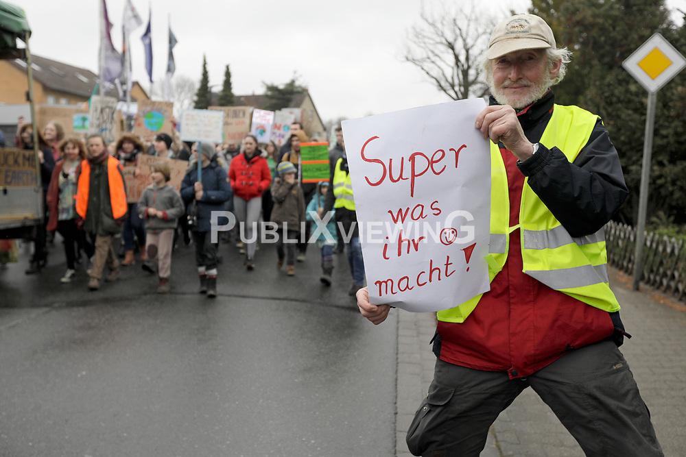 Demonstration der Fridays for Future-Bewegung in Lüchow im Wendland.<br /> <br /> Ort: Lüchow<br /> Copyright: Andreas Conradt<br /> Quelle: PubliXviewinG
