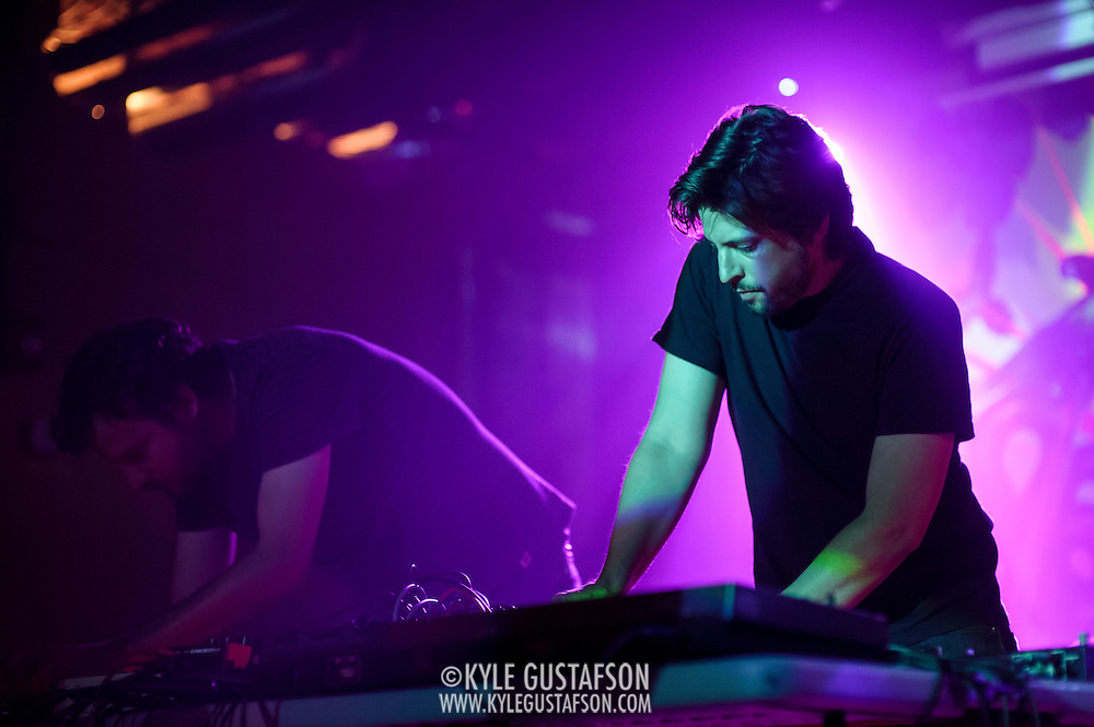 WASHINGTON, DC - August 7, 2014 - Aaron Leitko and Mike Petillo of Protect-U perform at Tropicalia in Washington, D.C. (Photo by Kyle Gustafson)