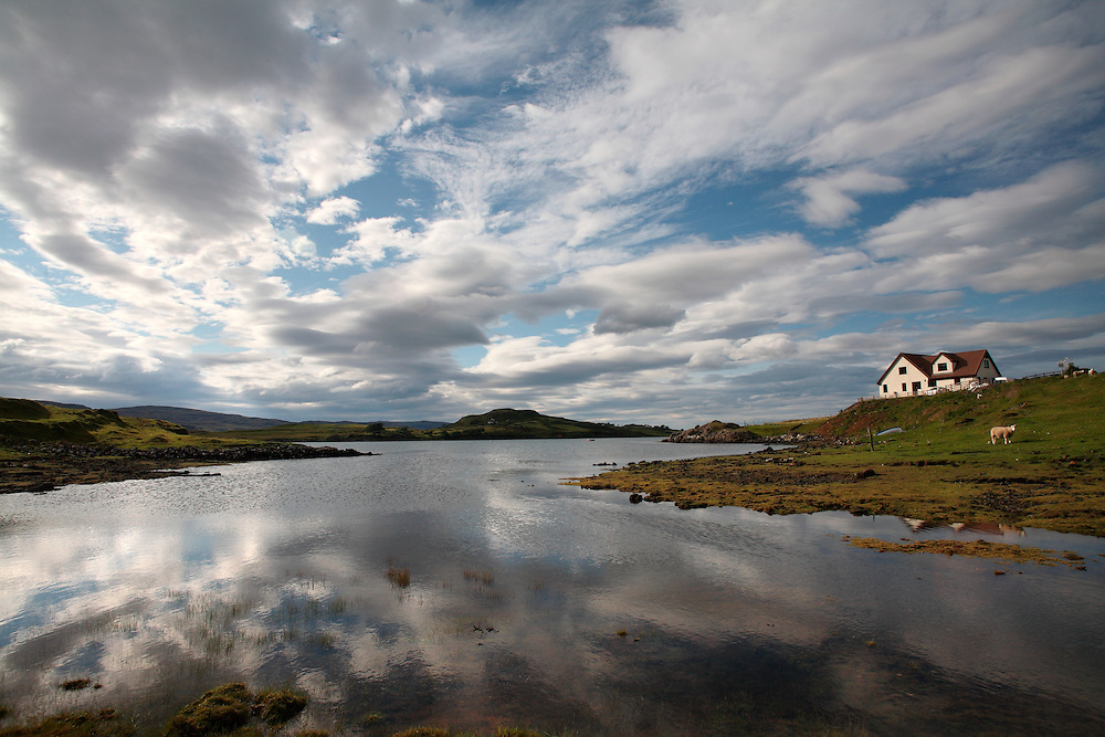 August 2008. Edinbane. Skye Island. Scotland.