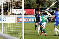 GOAL 1-1 Jamie Gullan (19) of Hibernian scores a goal 1-0 and celebrates, celebrationduring the Betfred Scottish League Cup match between Cove Rangers and Hibernian at Balmoral Stadium, Aberdeen, Scotland on 10 October 2020.