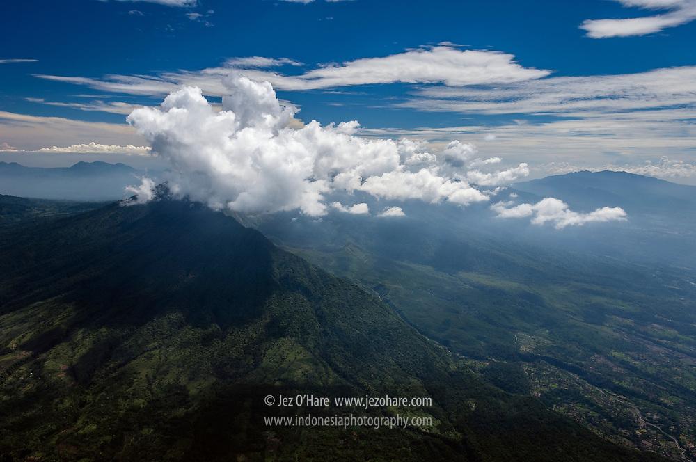 Gunung Galunggung, Tasikmalaya, Jawa Barat, Indonesia.