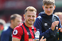 Football - 2018 / 2019 Premier League - AFC Bournemouth vs. Tottenham Hotspur<br /> <br /> Bournemouth's Ryan Fraser and Bournemouth's David Brooks applaud the home fans on the lap of appreciation after the final home game of the season at the Vitality Stadium (Dean Court) Bournemouth <br /> <br /> COLORSPORT/SHAUN BOGGUST