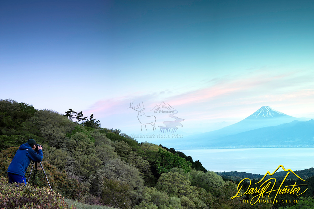 Photographer, Mt. Fuji, Sunrise