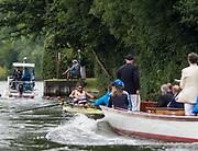 Henley-on-Thames. United Kingdom.  <br /> Silver Goblets and Nickalls' Challenge Cup  [Men's Pair] Club France FRA,  M2-. bow V ONFROY and T ONFROY.<br /> 2017 Henley Royal Regatta, Henley Reach, River Thames. <br /> <br /> 11:20:04  Saturday  01/07/2017   <br /> <br /> [Mandatory Credit. Peter SPURRIER/Intersport Images.