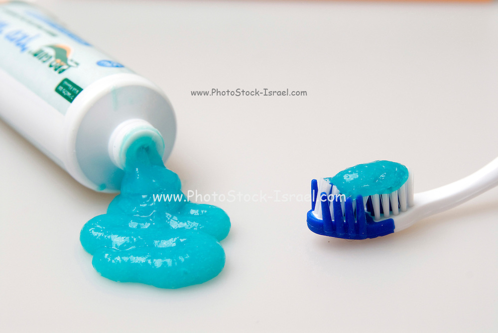 Toothpaste and tooth brush