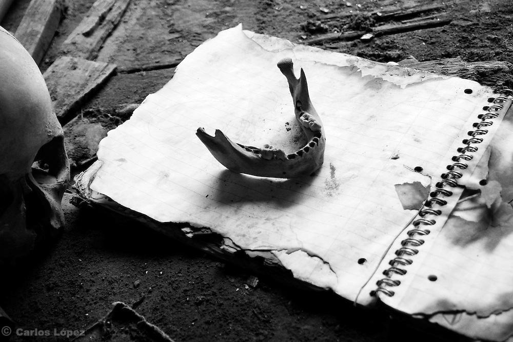 Photograph from the series: The Solitude of delirium.<br /> By Carlos López.<br /> Fotografía de la serie: La soledad del deliro.