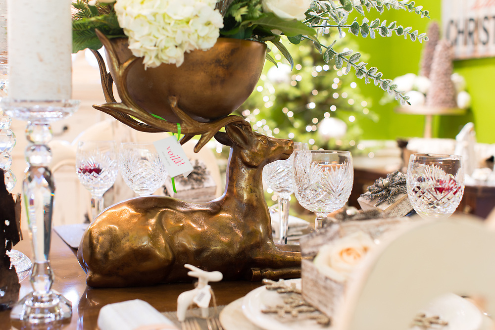 2016 November 04 - The annual Holiday Home Tour for Voila Blooms and Decor in Dundee.