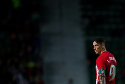 October 25, 2017 - Elche, Elche, Spain - Fernando Torres of Atletico de Madrid during the Spanish Copa del Rey (King's Cup) round of 32 first leg football match between.Elche CF and Atletico de Madrid at the Martinez Valero stadium in Elche (Credit Image: © Sergio Lopez/Pacific Press via ZUMA Wire)