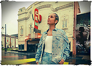 Recording artist Alicia Keys in the Kansas City Jazz District near 18th and Vine, Thursday, Sept. 10, 2020 in Kansas City, Mo. Keys is performing in the NFL Kickoff Concert, televised before tonight's season opening football game. (Colin E. Braley/AP Images for NFL)