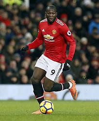 File photo dated 15-01-2018 of Manchester United's Romelu Lukaku