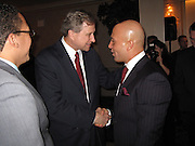 **EXCLUSIVE**.Gils Aubry & Tommy Belisis..Tommy Belisis CEO of John Thomas Financial receives Man of The Year for leadership and services from Michael Bloomberg..Fundraiser for Mike Bloomberg Campaign..Villa Veron Manor..Bronx, NY, USA..Thursday, October 22, 2009..Photo By Celebrityvibe.com.To license this image please call (212) 410 5354; or Email: celebrityvibe@gmail.com ; .website: www.celebrityvibe.com.