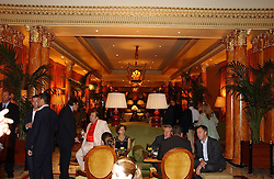 THE DORCHESTER at a party to celebrate the opening of The Bar at The Dorchester, Park Lane, London on 27th June 2006.<br /><br />NON EXCLUSIVE - WORLD RIGHTS
