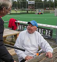 WAGENINGEN - Oudste lid, Jan Vis (90) lustrum 2019,  60+ hockey, 30jaar.   met wedstrijden en andere festiviteiten.   COPYRIGHT KOEN SUYK