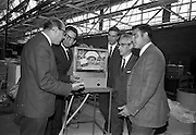 14/07/1967<br /> 07/14/1967<br /> 14 July 1967<br /> Spanish visitors are given a factory tour at Unidare Engineering Ltd. Portadown Co. Armagh.