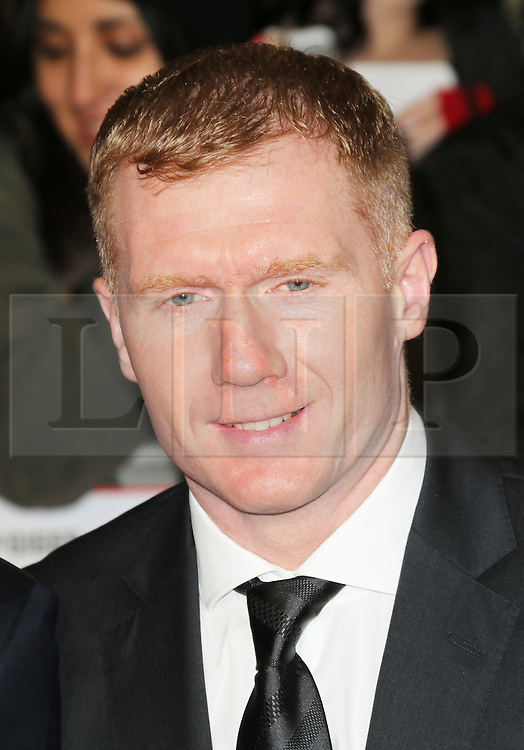 © Licensed to London News Pictures. Former Manchester United footballer Paul Scholes  attends The Class of 92  World Film Premiere at The Odeon West End, Leicester Square, London on 01 December 2013. Photo credit: Richard Goldschmidt/LNP
