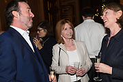 JANE ASHER, TenTen. The Government Art Collection/Outset Annual Award. Champagne reception to announce the inaugural artist Hurvin Anderson and unveil his 2018 print. Locarno Suite, Foreign and Commonwealth Office. SW1. 2 October 2018
