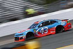 July 20, 2018 - Loudon, New Hampshire, United States of America - Darrell Wallace, Jr (43) takes to the track to practice for the Foxwoods Resort Casino 301 at New Hampshire Motor Speedway in Loudon, New Hampshire. (Credit Image: © Justin R. Noe Asp Inc/ASP via ZUMA Wire)