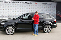 Iker Casillas participates and receives new Audi during the presentation of Real Madrid's new cars made by Audi in Madrid. December 01, 2014. (ALTERPHOTOS/Caro Marin)