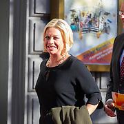 NLD/Amsterdam/20150926 - Afsluiting viering 200 jaar Koninkrijk der Nederlanden, Jeanine Hennis-Plasschaert en partner Erik-Jan