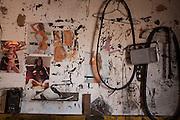 Carmopolis de Minas_MG, Brazil.<br /> <br /> Borracharia na rodovia BR 381 em Carmopolis de Minas.<br /> <br /> The repair shop in BR 381 highway in Carmopolis de Minas.<br /> <br /> Foto: LEO DRUMOND / NITRO