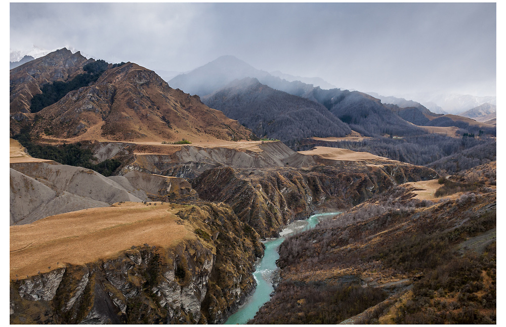 Shotover River from Skippers Canyon,Otago.