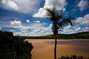 Itapebi_BA, Brasil...Rio Jequitinhonha em Itapebi, Bahia...The Jequitinhonha river in Itapebi, Bahia...Foto: LEO DRUMOND / NITRO