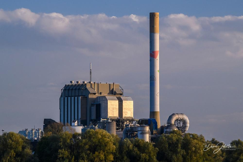 Nijmegen power plant, Nijmegen, Gelderland, Netherlands