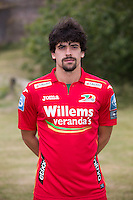 20150626 - OOSTENDE, BELGIUM: Oostende's Fernando Canesin pictured during the 2015-2016 season photo shoot of Belgian first league soccer team KV Oostende, Friday 26 June 2015 in Oostende. BELGA PHOTO KURT DESPLENTER