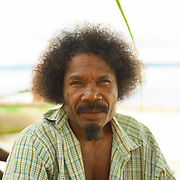 Portrait of a papua.