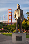 Joseph B. Strauss Statue by the Golden Gate Bridge
