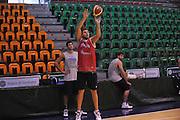 Sassari 19 Agosto 2012 - qualificazioni Eurobasket 2013 - Allenamento<br /> Nella Foto : STEFANO MANCINELLI<br /> Foto Ciamillo/Castoria