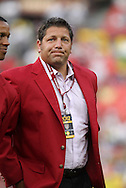 30 May 2012: 2012 National Soccer Hall of Fame inductee Tony Meola was honored on the field before the game. The Brazil Men's National Team defeated the United States Men's National Team 4-1 at Fedex Field in Landover, Maryland in an international friendly soccer match.