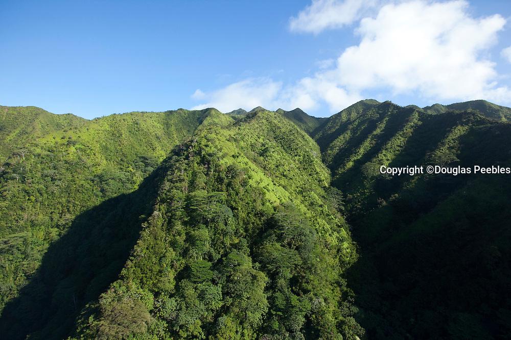 Koolau Mountains, Honolulu, Oahu, Hawaii