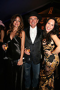Rebecca Loos, Wayne Sharpe and Eugenia S, The Red Cross London Ball, The Room by the River: 99 Upper Ground, Waterloo, London, SE1. 21 November 2007. -DO NOT ARCHIVE-© Copyright Photograph by Dafydd Jones. 248 Clapham Rd. London SW9 0PZ. Tel 0207 820 0771. www.dafjones.com.