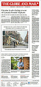 August 30, 2021 - CANADA: Front-page: Today's Newspapers In Canada