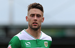 Jack Compton of Yeovil Town - Photo mandatory by-line: Harry Trump/JMP - Mobile: 07966 386802 - 22/08/15 - SPORT - FOOTBALL - Sky Bet League Two - Yeovil Town v Luton Town - Huish Park, Yeovil, England.
