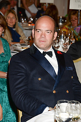 CASPAR HOBBS at Game & Wildlife Conservation Trust's annual ball held at The Savoy, London on 6th November 2013.