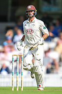 Ben Foakes of Surrey during the Specsavers County Champ Div 1 match between Surrey County Cricket Club and Kent County Cricket Club at the Kia Oval, Kennington, United Kingdom on 7 July 2019.