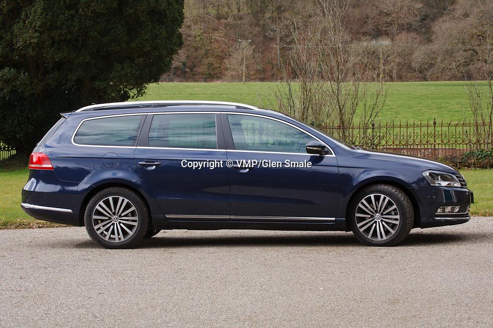 VW Passat Estate 2.0 TDI BlueMotion (2011)